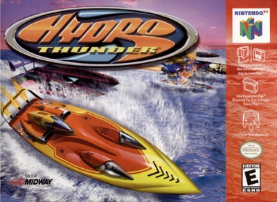 Hydro Thunder Cover Art