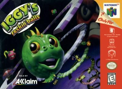 Iggy's Reckin Balls Cover Art