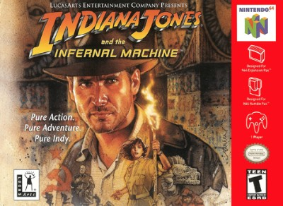 Indiana Jones Infernal Machine Cover Art