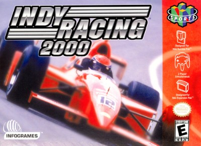 Indy Racing 2000 Cover Art