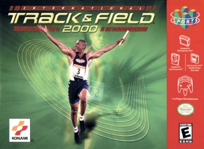 International Track Field 2000 Cover Art