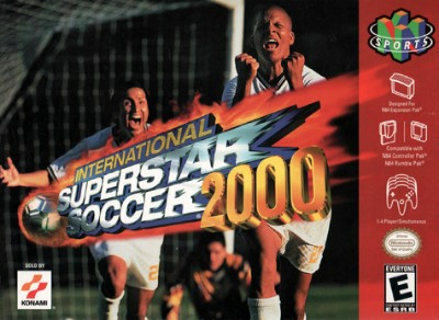 International Superstar Soccer 2000 Cover Art