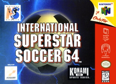 International Superstar Soccer 64 Cover Art
