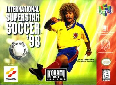 International Superstar Soccer '98 Cover Art