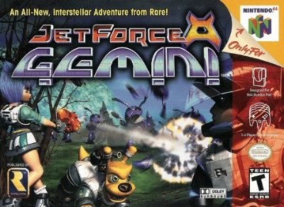 Jet Force Gemini Cover Art