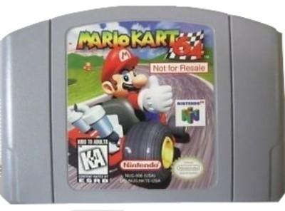Mario Kart 64 [Not For Resale] Cover Art