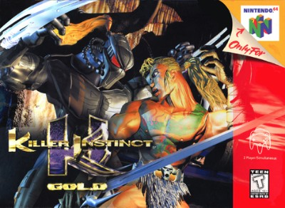 Killer Instinct Gold Cover Art