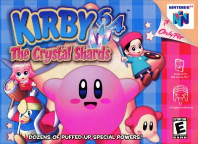 Kirby 64: The Crystal Shards Cover Art