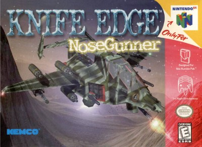 Knife Edge Nose Gunner Cover Art