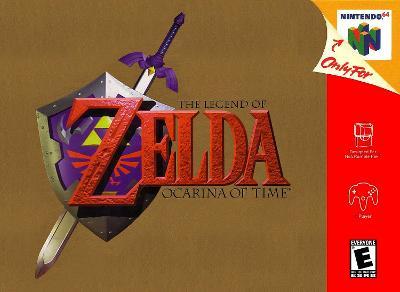 Legend of Zelda: Ocarina of Time Cover Art
