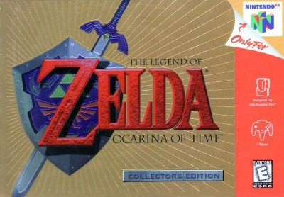 Legend of Zelda: Ocarina of Time [Collector's Edition] Cover Art