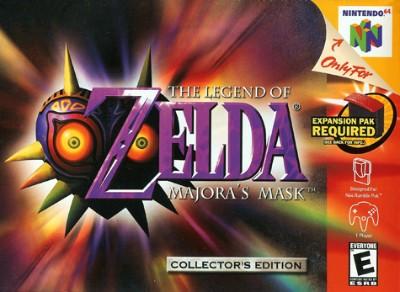 Legend of Zelda: Majora's Mask Cover Art