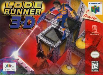 Lode Runner 3-D Cover Art