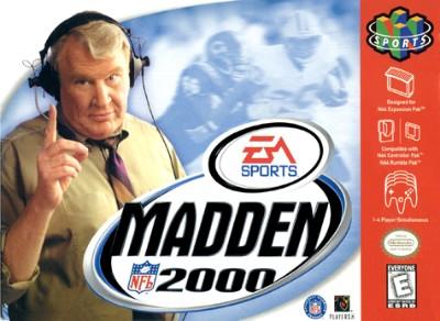 Madden NFL 2000 Cover Art