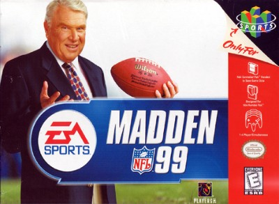 Madden NFL 99 Cover Art