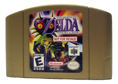 Legend of Zelda: Majora's Mask [Not For Resale][Gold] Cover Art