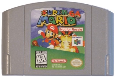 Super Mario 64 [Not For Resale] Cover Art