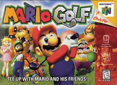 Mario Golf Cover Art