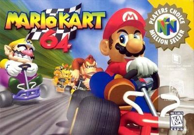 Mario Kart 64 [Player's Choice] Cover Art