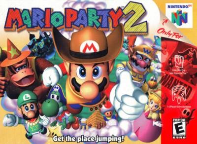 Mario Party 2 Cover Art