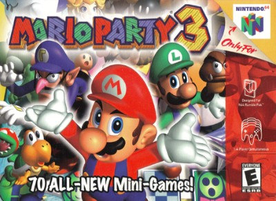 Mario Party 3 Cover Art