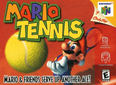 Mario Tennis Cover Art