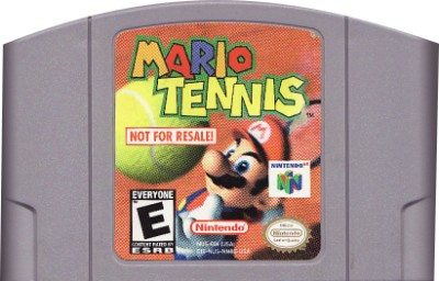 Mario Tennis [Not For Resale] Cover Art