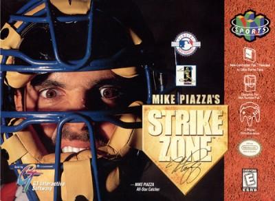 Mike Piazza's StrikeZone Cover Art