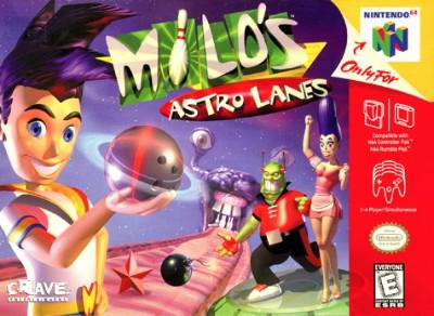 Milo's Astro Lanes Cover Art