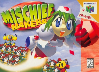 Mischief Makers Cover Art