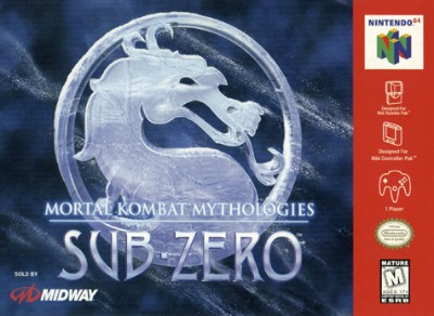 Mortal Kombat Mythologies: Sub Zero Cover Art