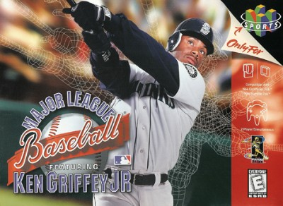 Major League Baseball featuring Ken Griffey Jr. Cover Art