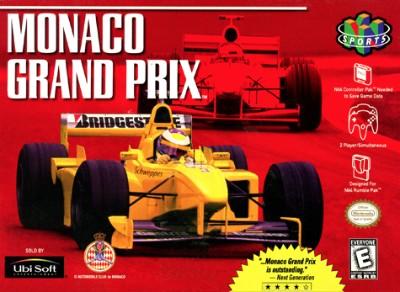 Monaco Grand Prix Cover Art
