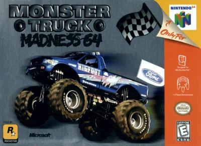 Monster Truck Madness 64 Cover Art