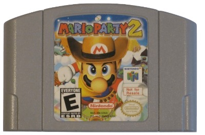 Mario Party 2 [Not For Resale] Cover Art