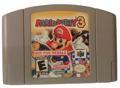 Mario Party 3 [Not For Resale] Cover Art