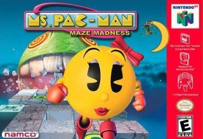 Ms. Pac Man: Maze Madness Cover Art