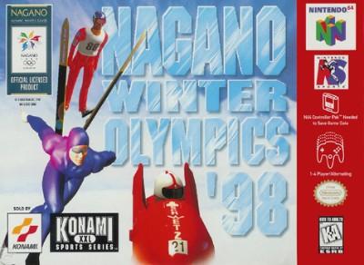 Nagano Winter Olympics '98 Cover Art