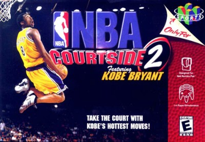 NBA Courtside 2 featuring Kobe Bryant Cover Art