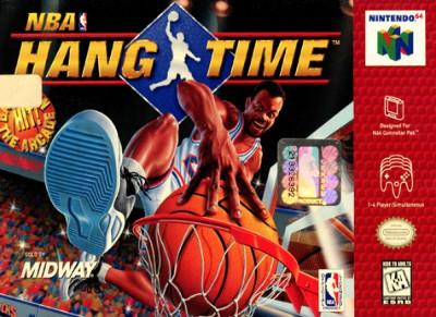NBA Hang Time Cover Art