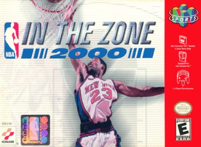 NBA In The Zone 2000 Cover Art