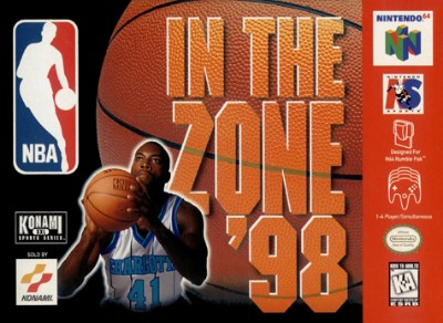 NBA In The Zone 98 Cover Art