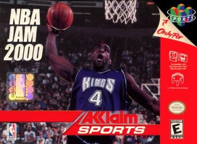 NBA Jam 2000 Cover Art
