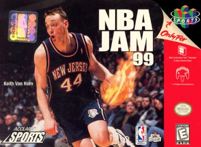 NBA Jam '99 Cover Art