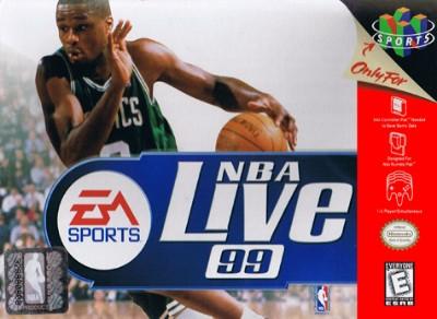 NBA Live '99 Cover Art