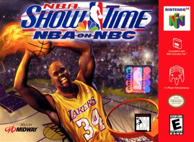 NBA Showtime: NBA on NBC Cover Art