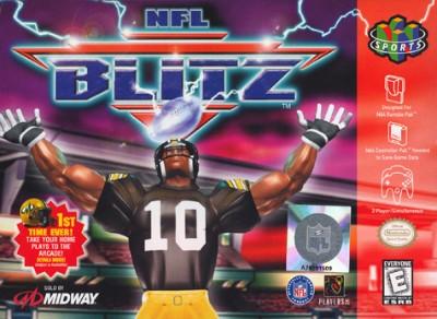 NFL Blitz Cover Art