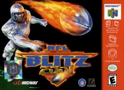 NFL Blitz 2001 Cover Art
