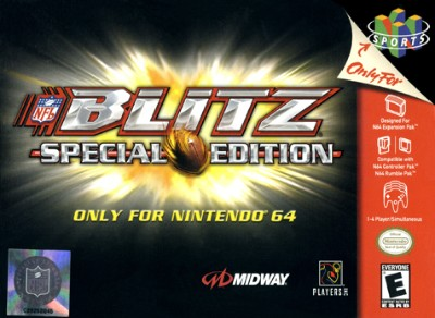 NFL Blitz Special Edition Cover Art