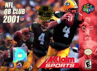 NFL Quarterback Club 2001 Cover Art